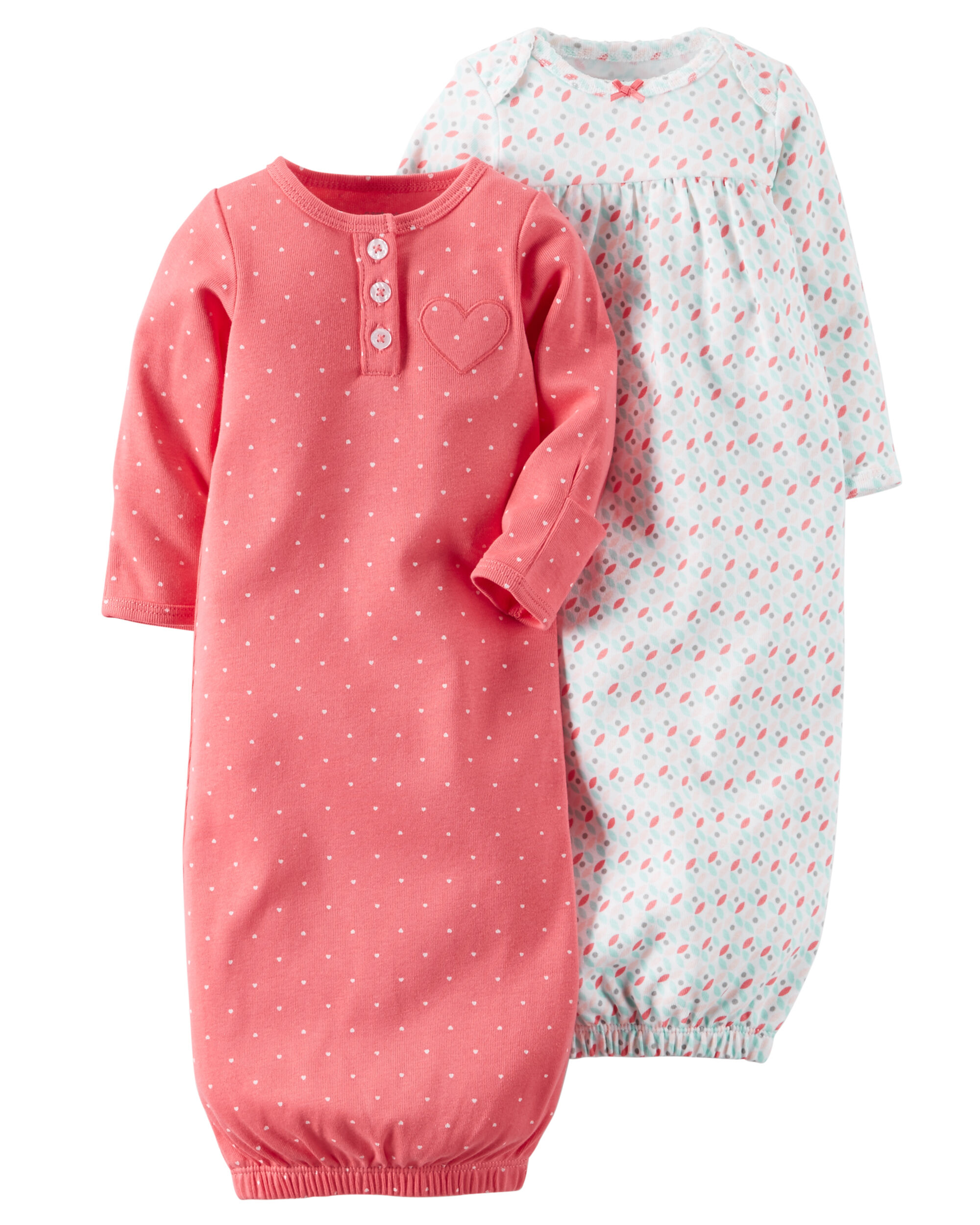 2-Pack Babysoft Sleeper Gowns | Carters.com