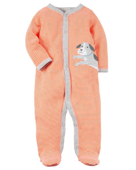 b6a125326 Snap-Up Dog Cotton Sleep   Play