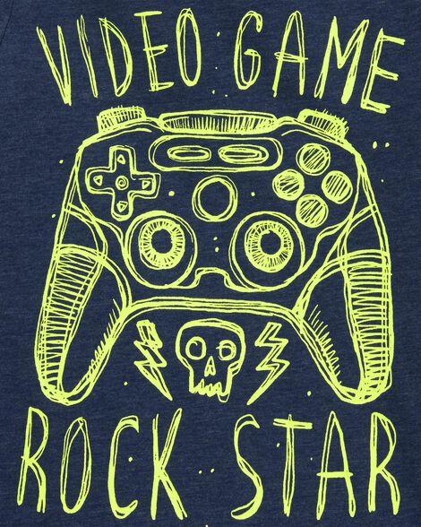 Video Game Snow Yarn Tee