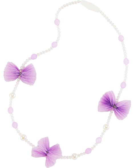 Tulle Bow Necklace