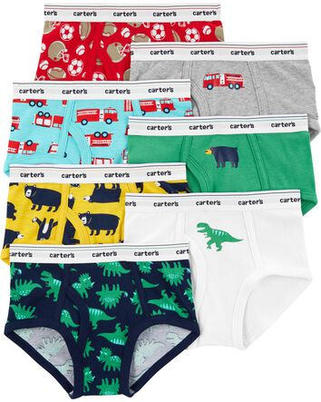 Vaenait Baby 2T-8T Toddler Kids Boys Boxer Briefs 3 4 or 7 Pack Modal or Cotton Underwear Set Soft Comfort Breathable Cool