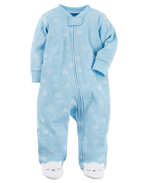 Bear Zip-Up Cotton Sleep   Play  d84b64ed4