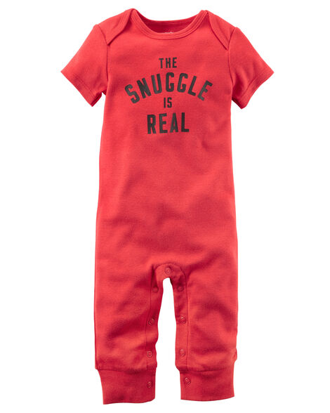 e2850faac The Snuggle Is Real Jumpsuit | Carters.com
