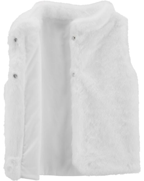 3c62ee563 Faux Fur Vest