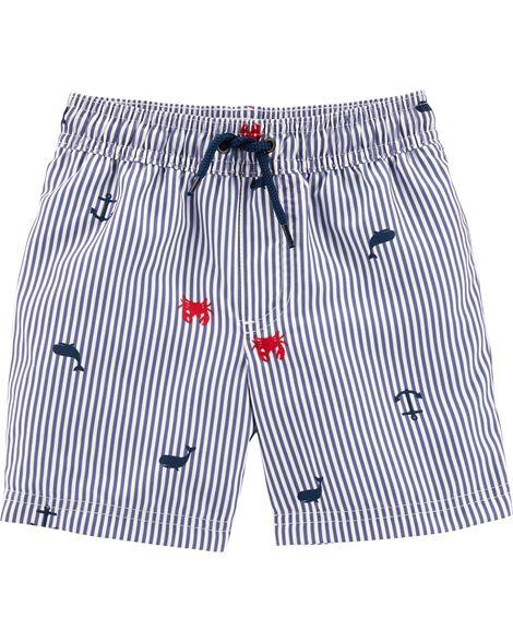 ba04560eab Shoptagr   Carter's Crab Swim Trunks by Carter's