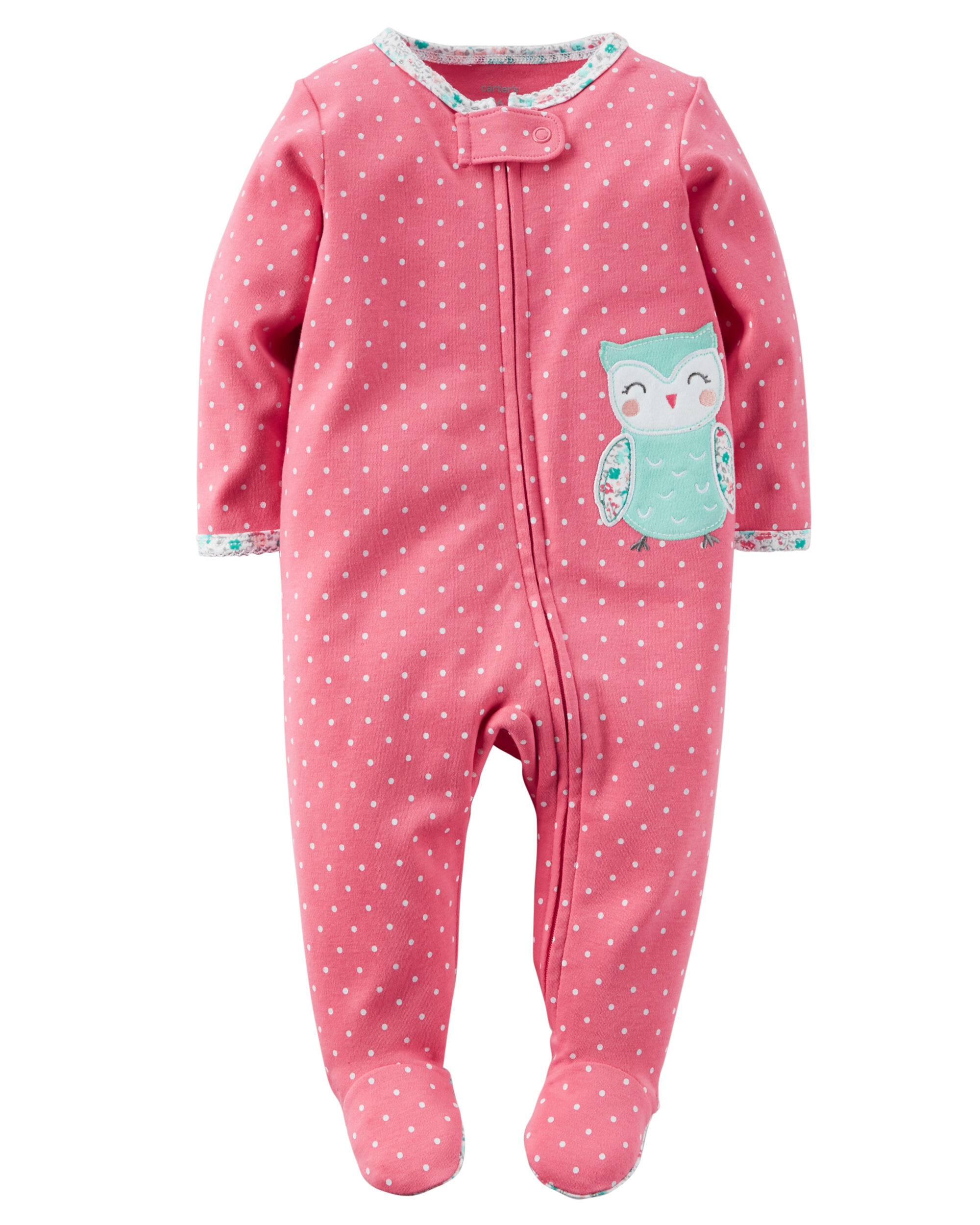 Cotton Zip Up Sleep Amp Play Carters Com