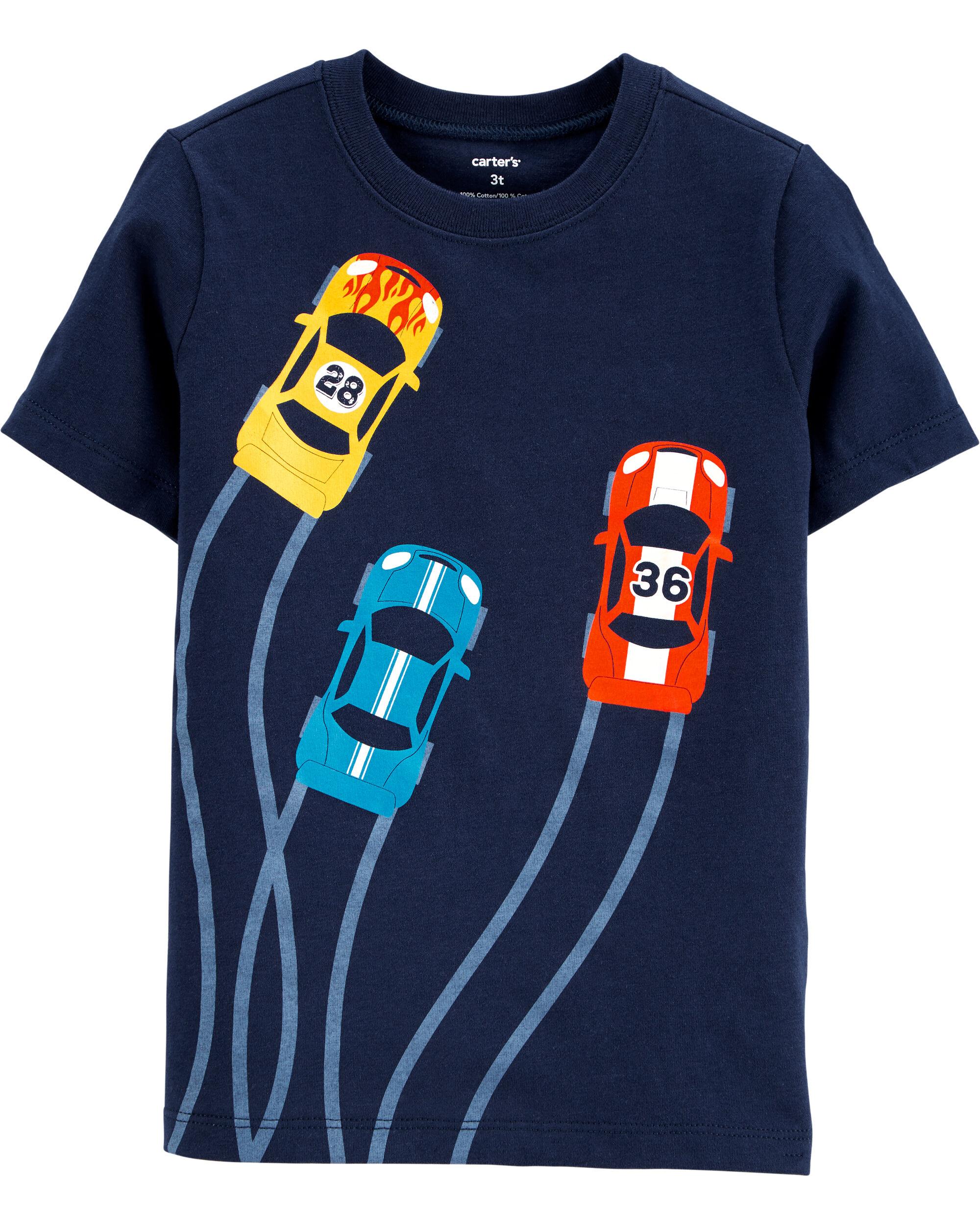 *DOORBUSTER* Race Cars Jersey Tee