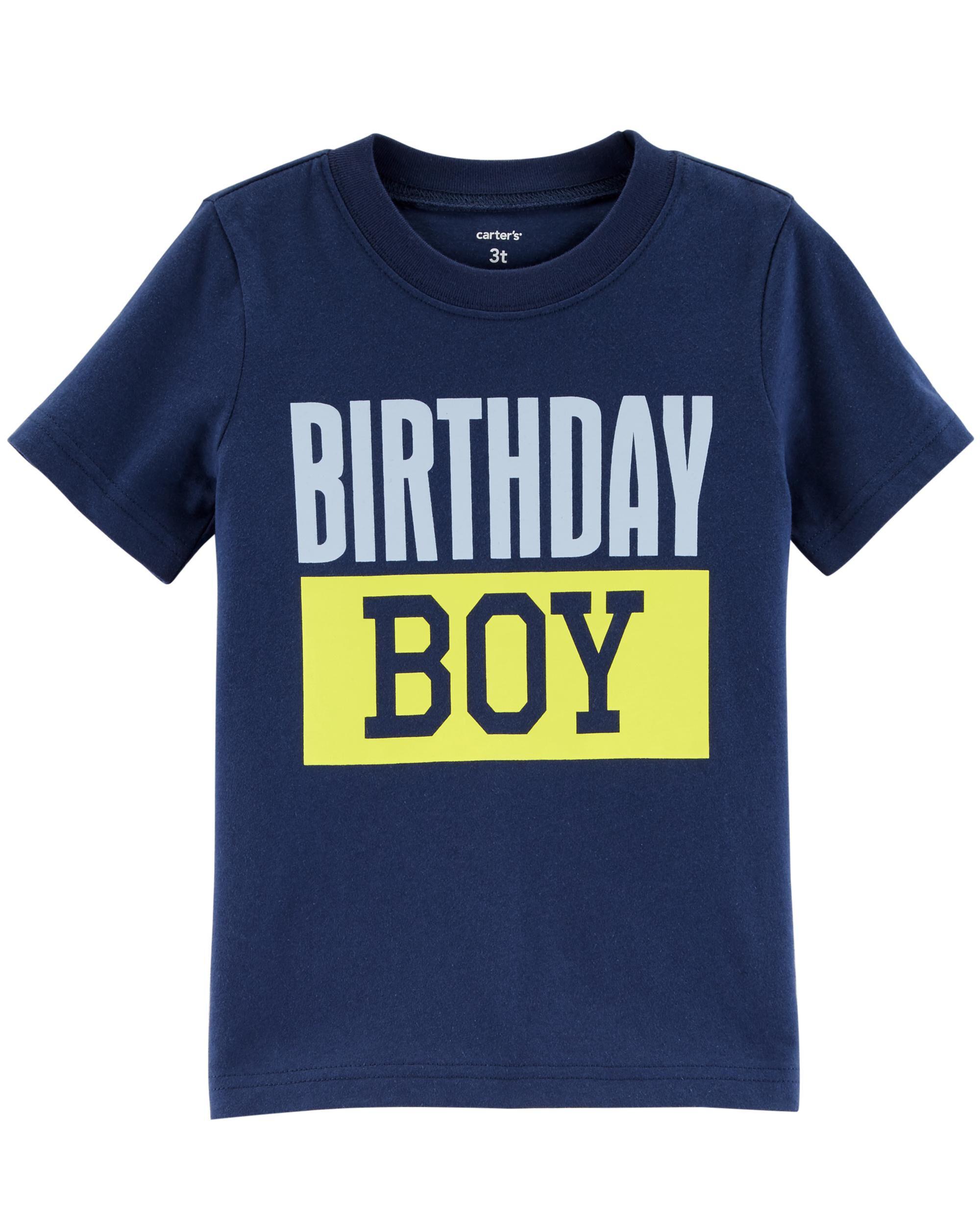 Birthday Boy Jersey Tee Loading Zoom