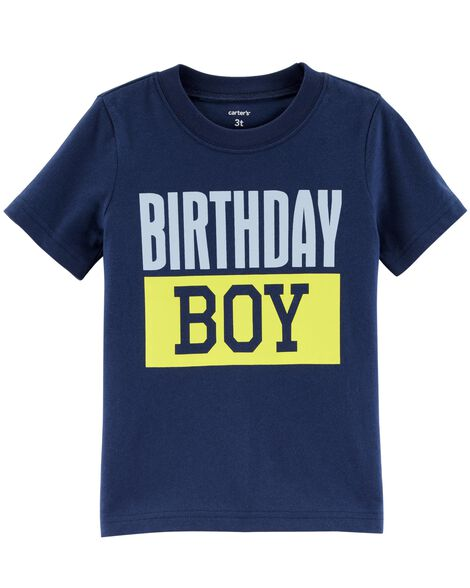 Images Birthday Boy Jersey Tee