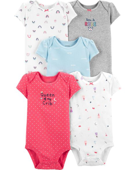 008084fed 5-Pack Princess Original Bodysuits ...
