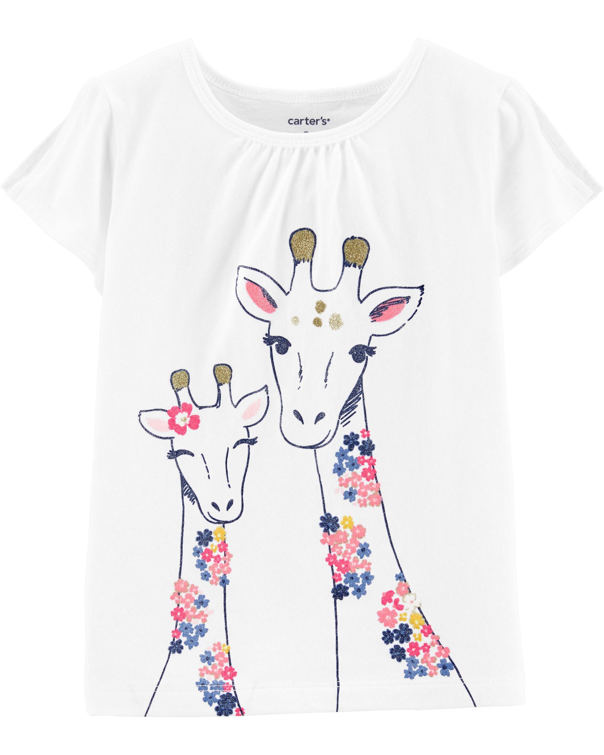 *CLEARANCE* Giraffe Split Shoulder Top