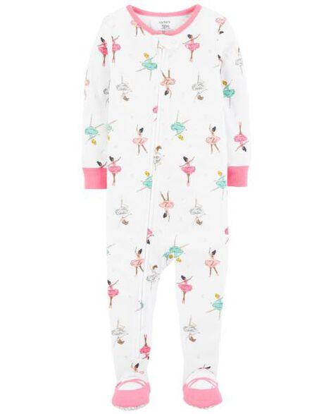 f09abc727202 1-Piece Ballerina Snug Fit Cotton PJs