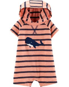2c31f4aef890d Baby Boy One Pieces   Rompers & Sunsuits   Carter's