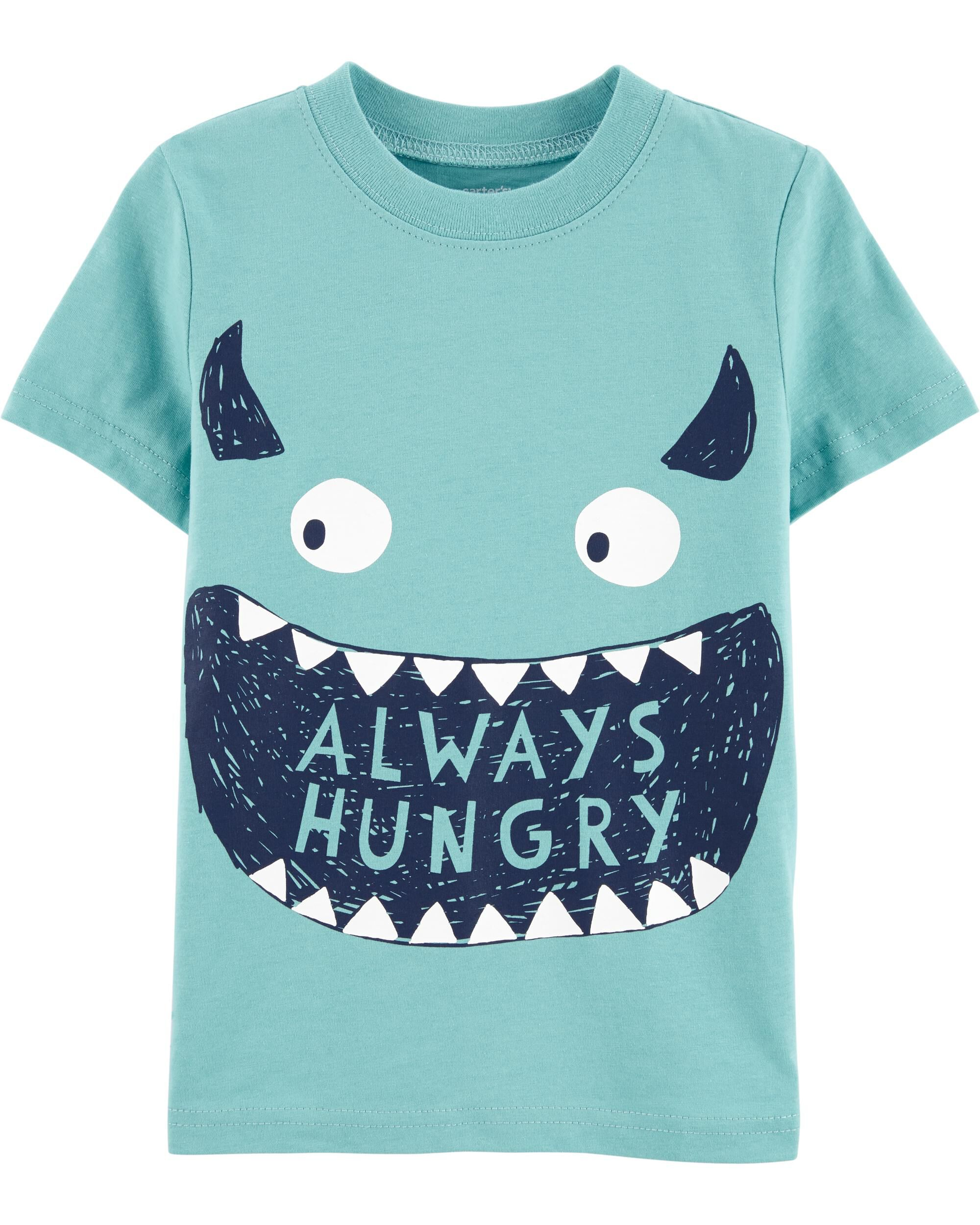 *CLEARANCE* Always Hungry Monster Jersey Tee