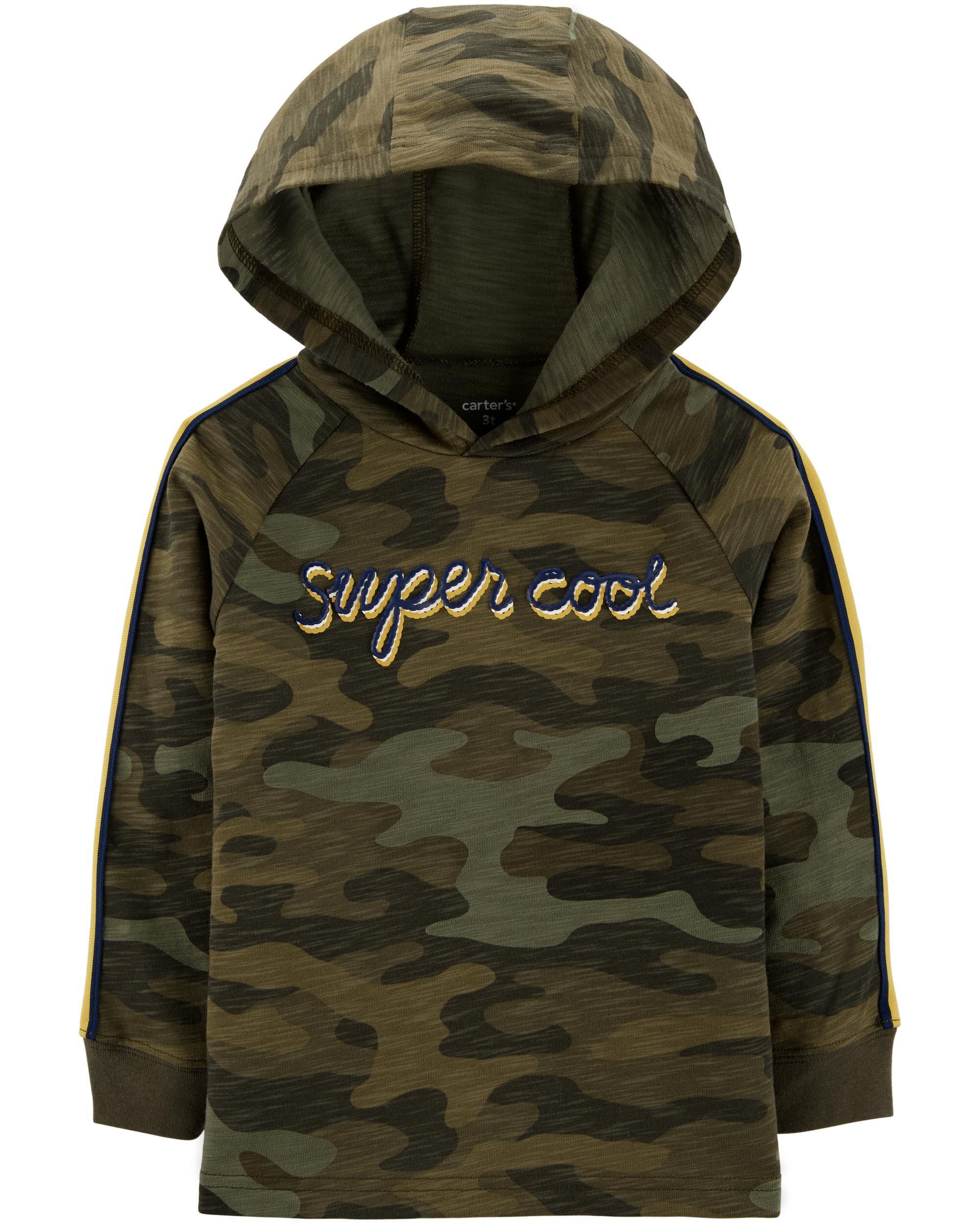 Super Cool Hooded Slub Jersey Tee