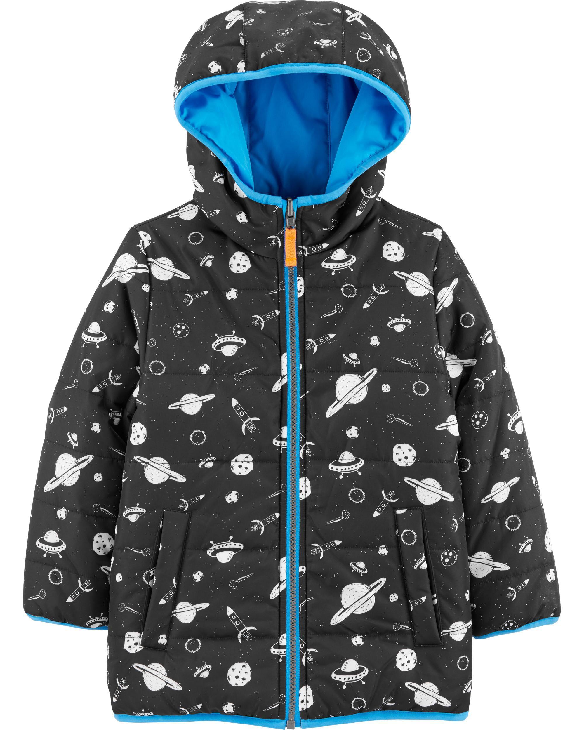 Carters Boys Reversible Bubble Jacket