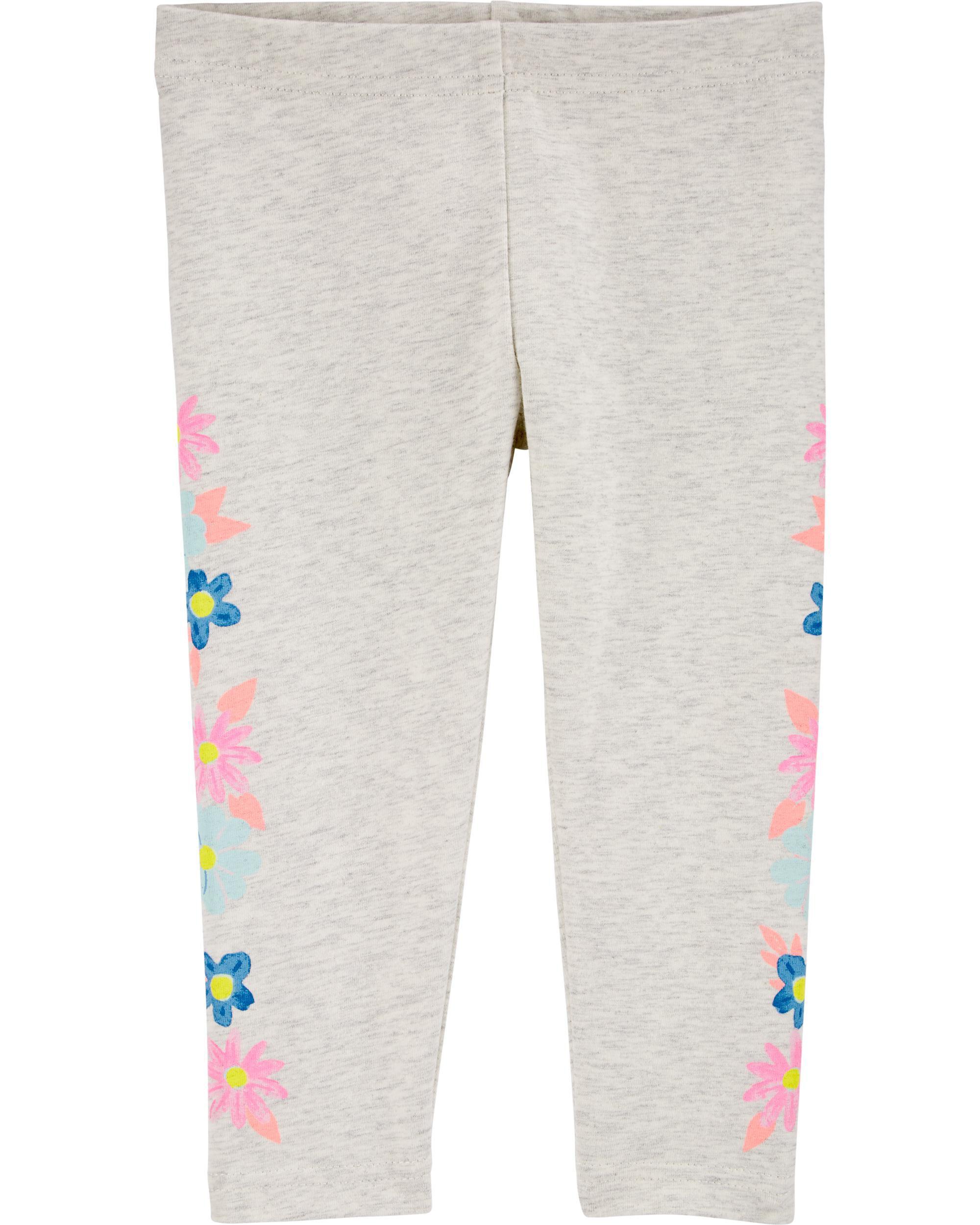 *CLEARANCE* Floral Capri Leggings