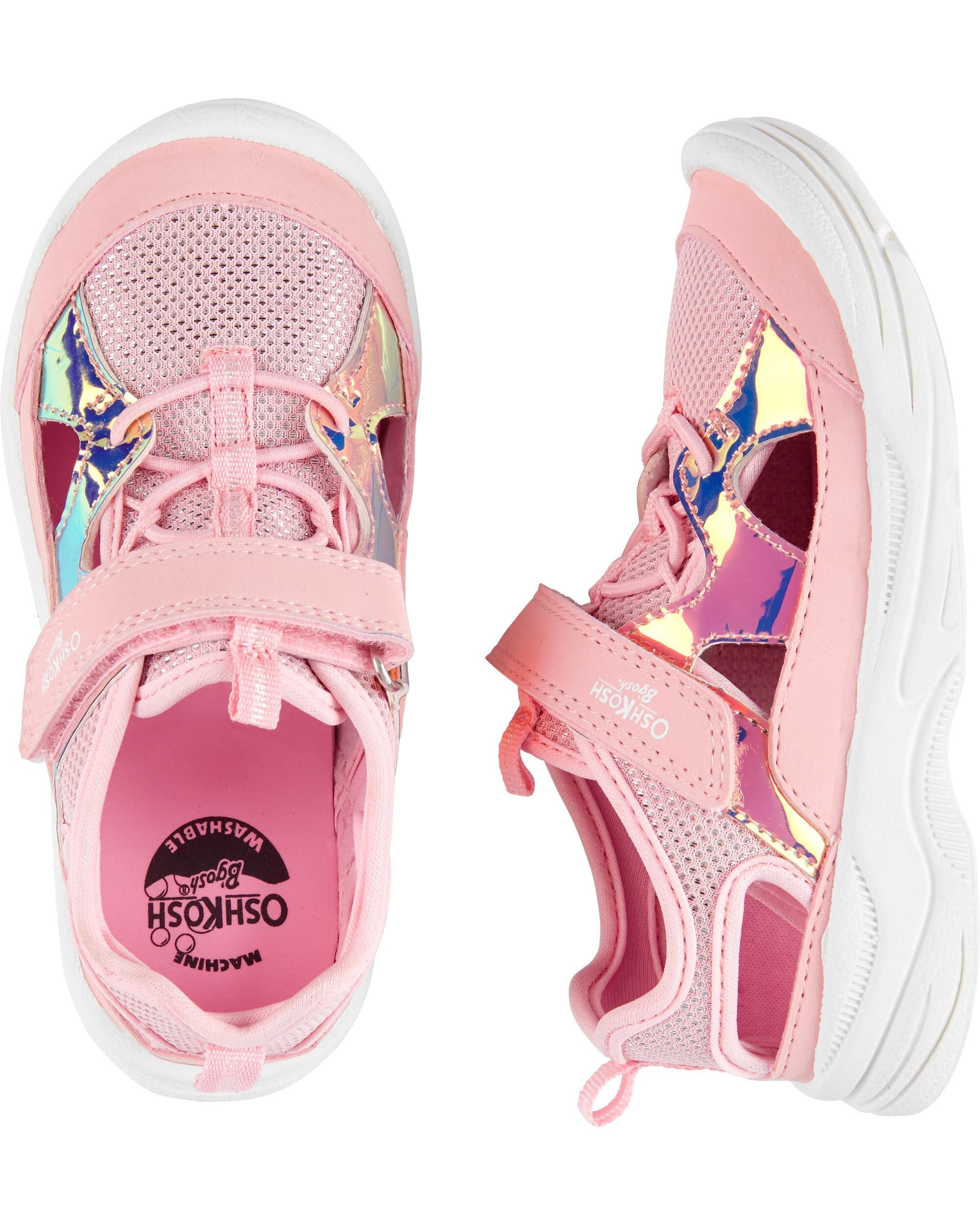 *DOORBUSTER*  Holographic Bump Toe Athletic Sneakers