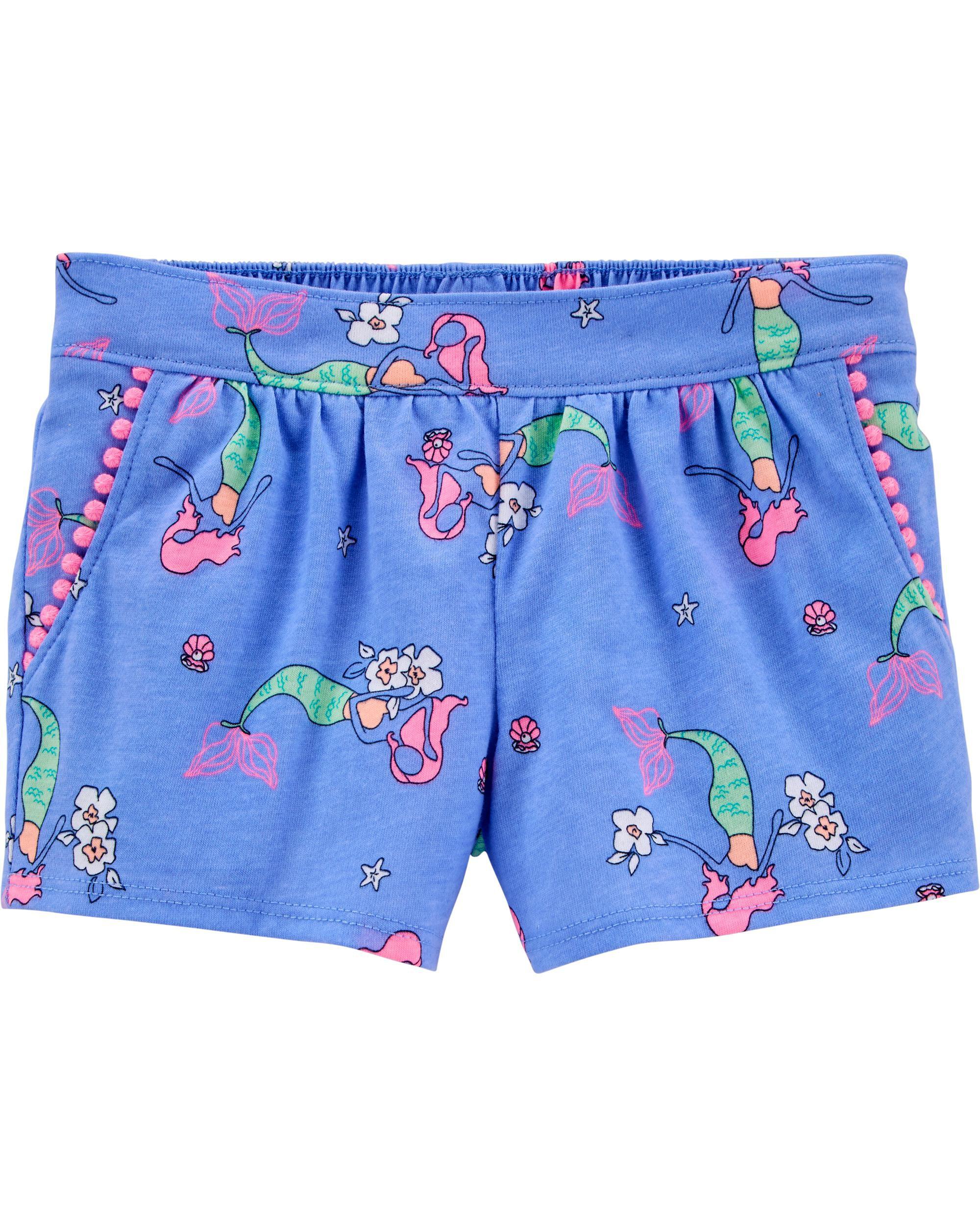 *DOORBUSTER* Mermaid Pom Pom Shorts