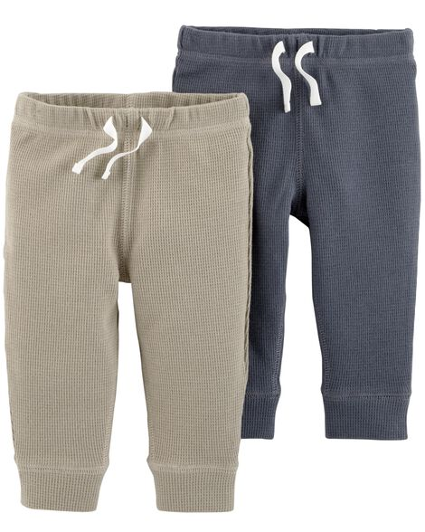 be4812f96 2-Pack Thermal Pants | Carters.com