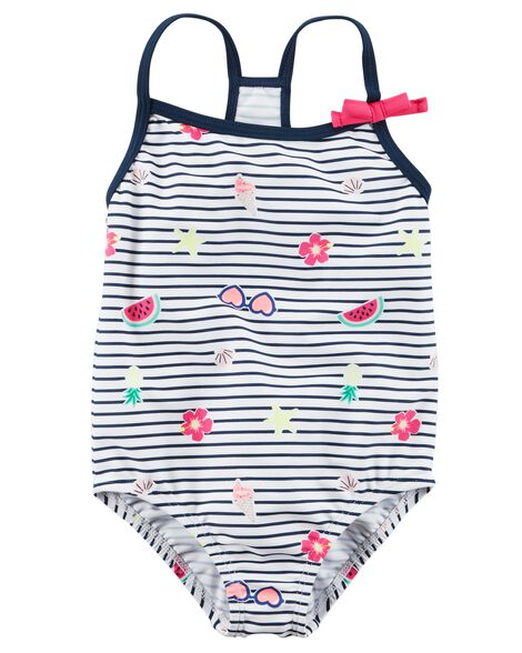 Carter's Bow Swimsuit