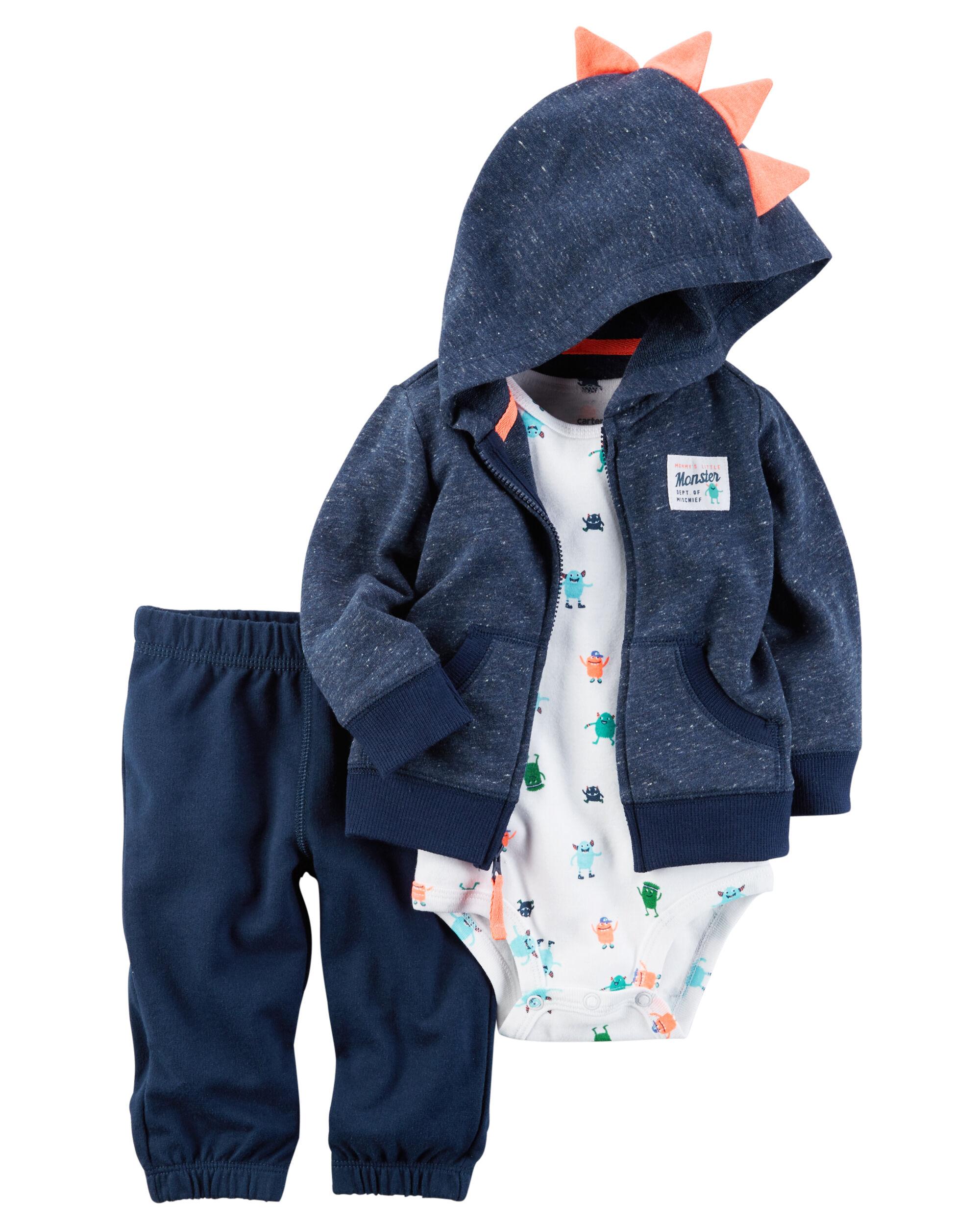 3 Piece Little Jacket Set