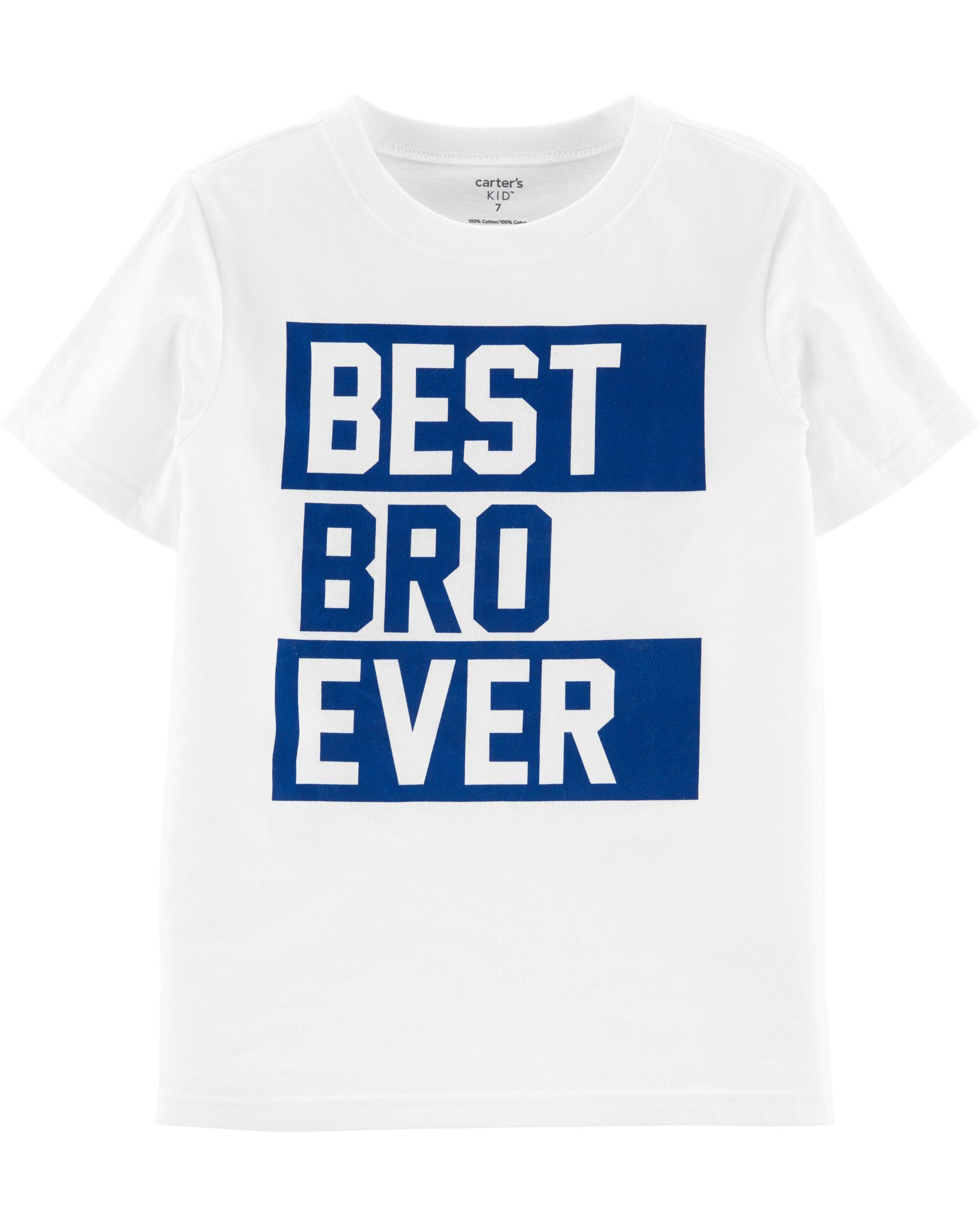 *CLEARANCE* Best Bro Ever Jersey Tee