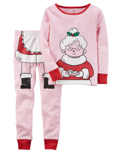 2-Piece Christmas Snug Fit Cotton PJs  17c7ca6d7