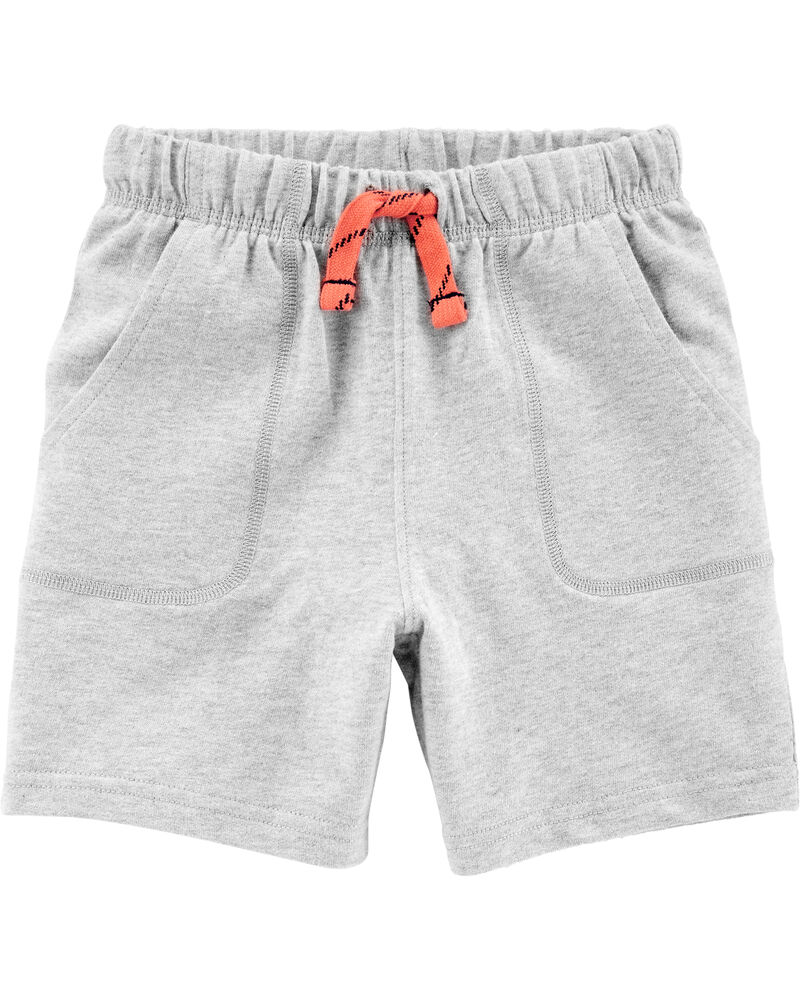 Carters Toddler Boys 2 Pack Pull-On French Terry Soft Shorts