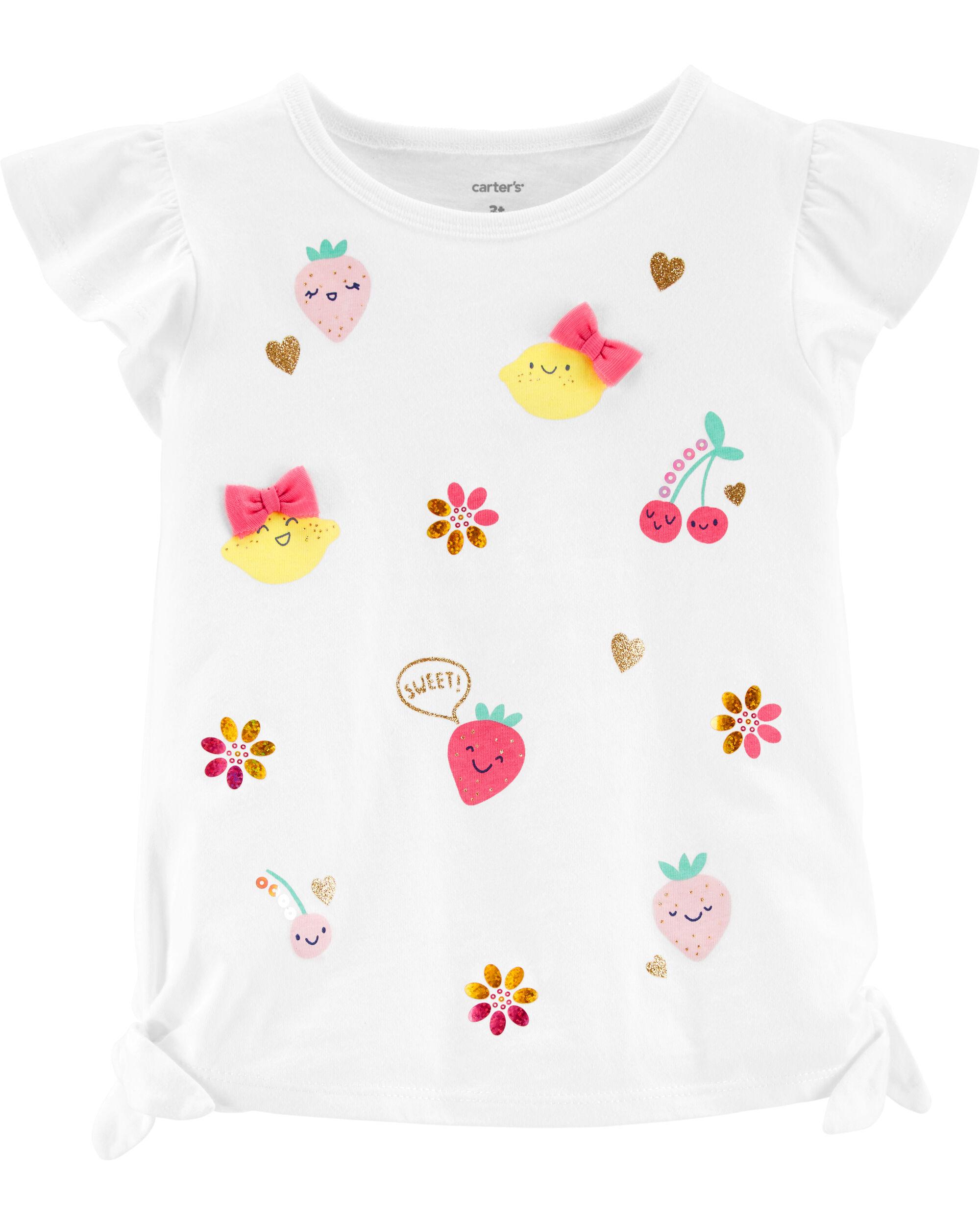 UK/_ BABY BOY GIRL GIRAFFE PRINT CREW NECK LONG SLEEVE T-SHIRT BOTTOMING TOP CLAS