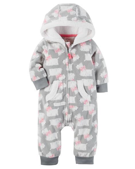 014d9f012 Hooded Fleece Jumpsuit