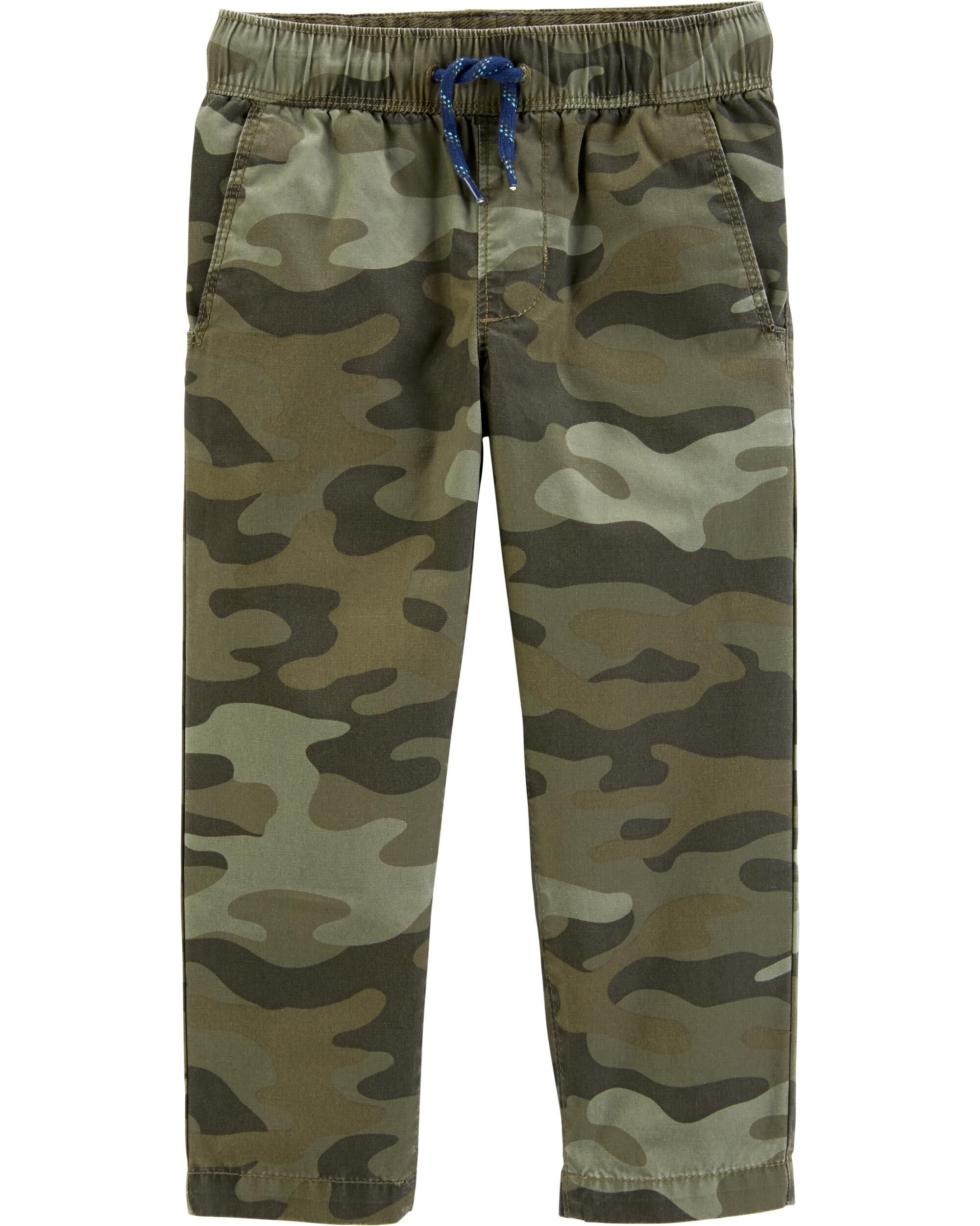 Camo Everyday Pull-On Pants