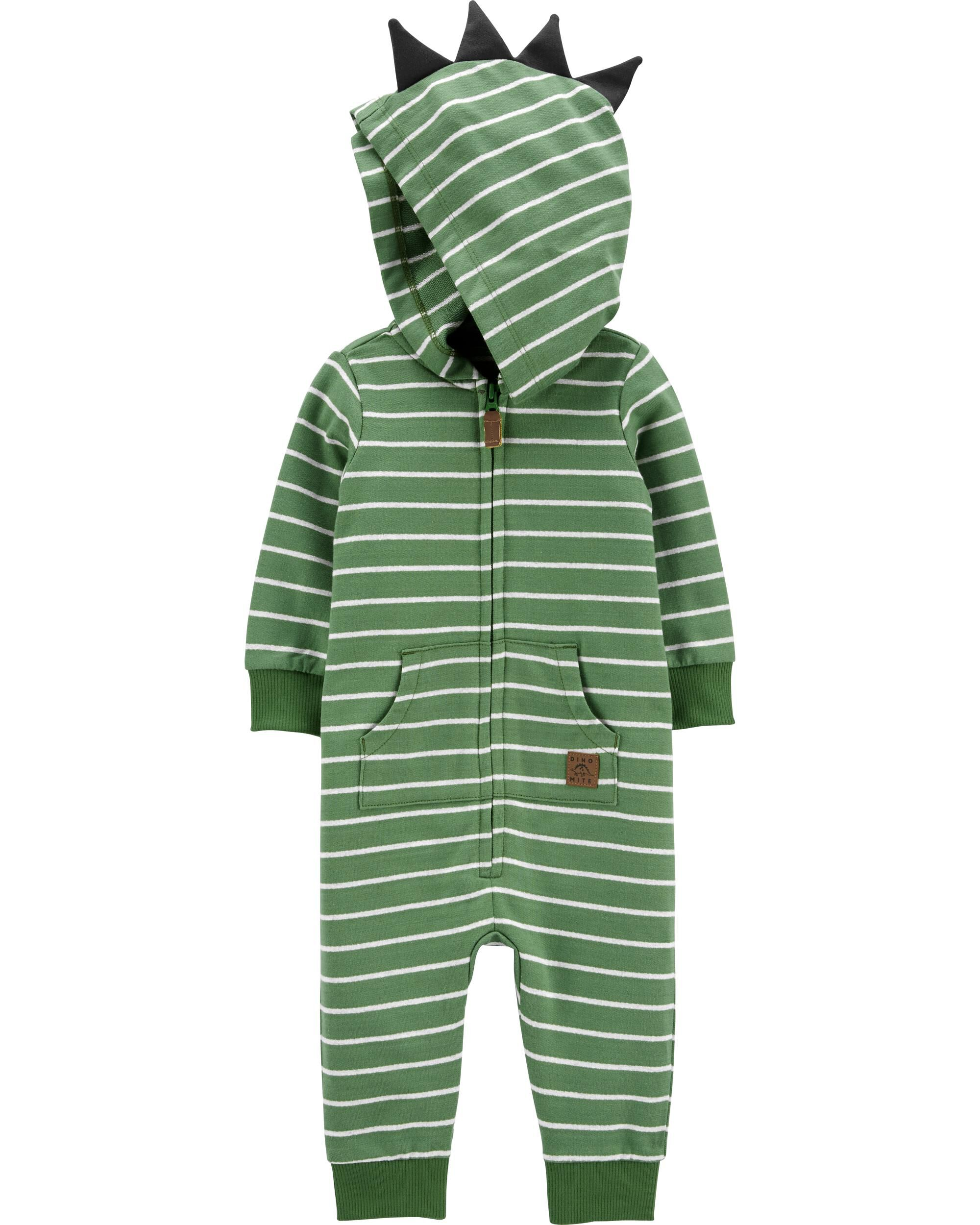 *DOORBUSTER* Hooded Striped Jumpsuit