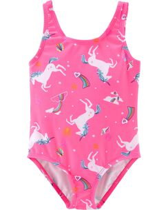 7c4a35ebd6386 Baby Girl Swimsuits, Bathing Suits & Swimwear | Carter's | Free Shipping