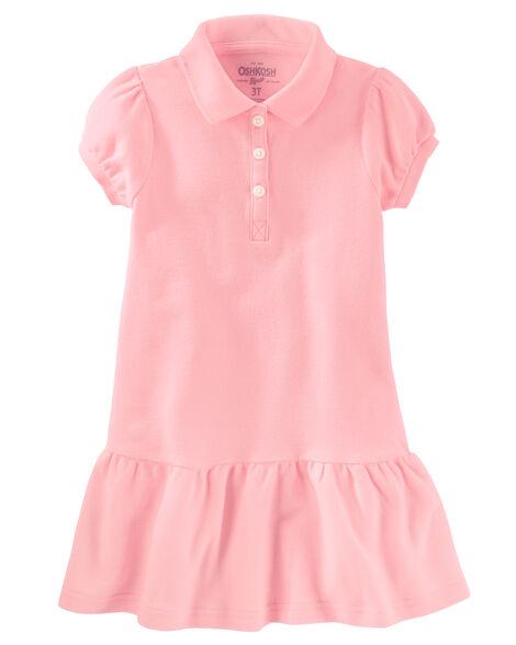 064bc73dfb588 Piqué Polo Uniform Dress