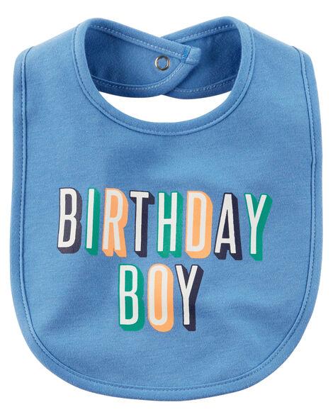 Images Birthday Boy Teething Bib