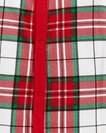 1-Piece Plaid 100% Snug Fit Cotton...