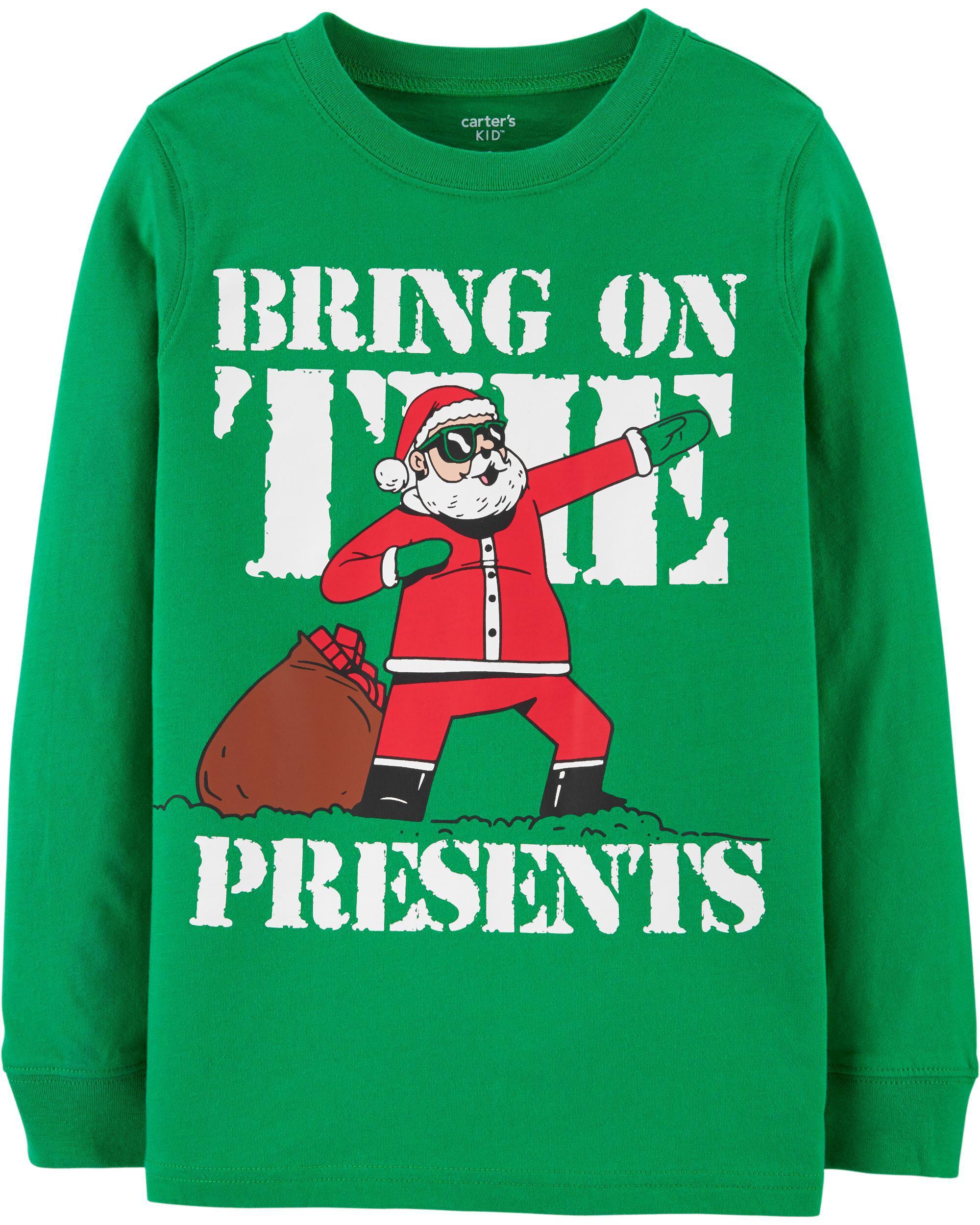 *DOORBUSTER* Bring On The Presents Santa Jersey Tee