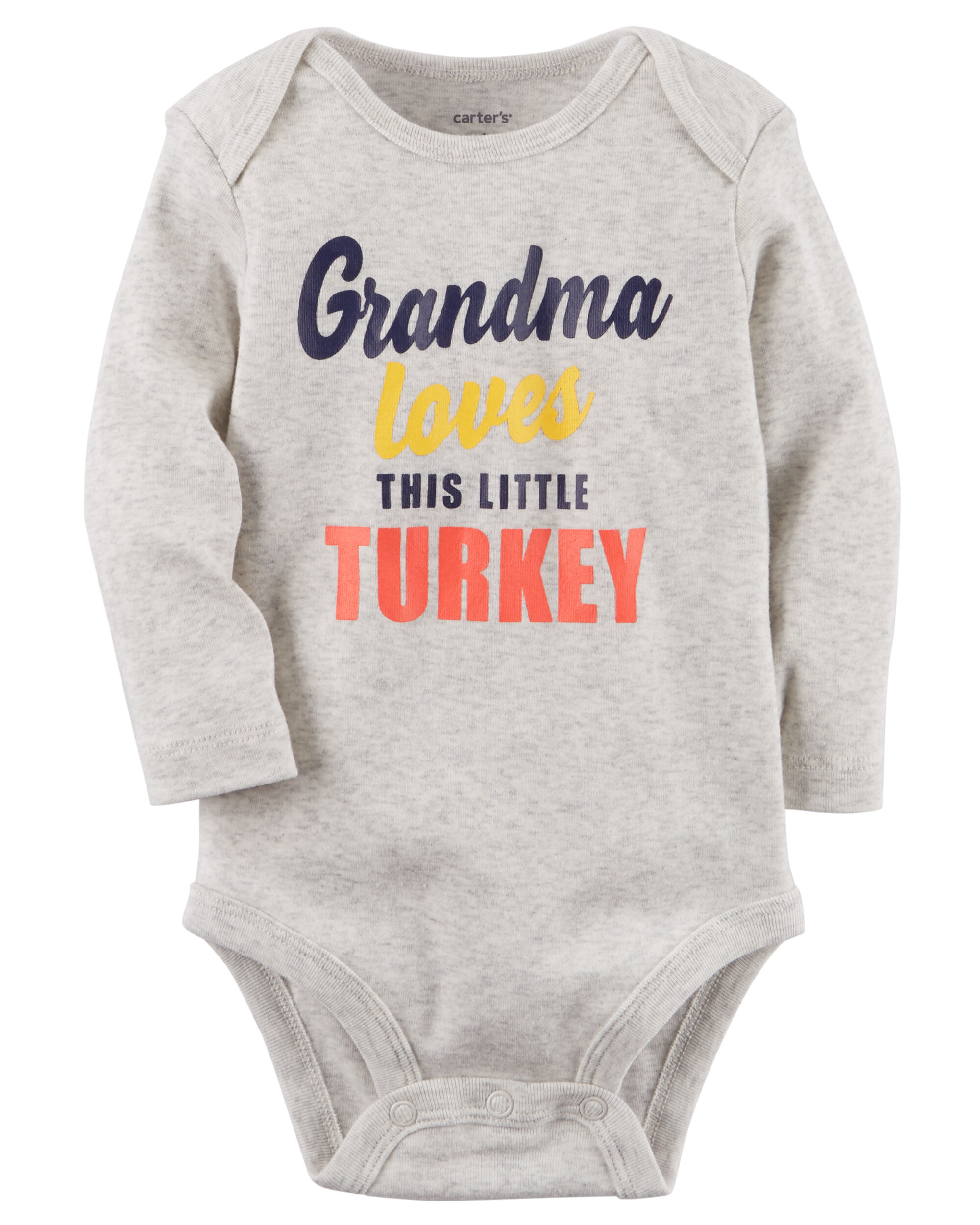 Grandma Loves This Little Turkey Collectible Bodysuit
