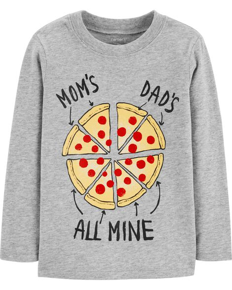 Mom & Dad Pizza Jersey Tee