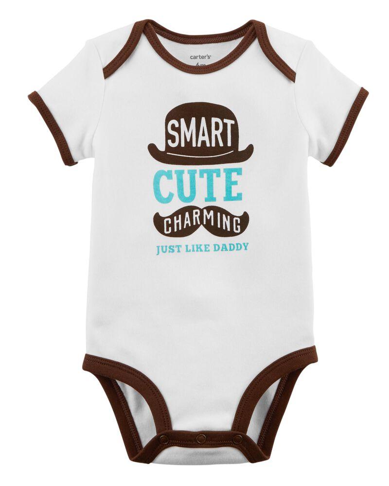 NanyCrafts Babys I Know I Looks Just Like My Daddy Bodysuit