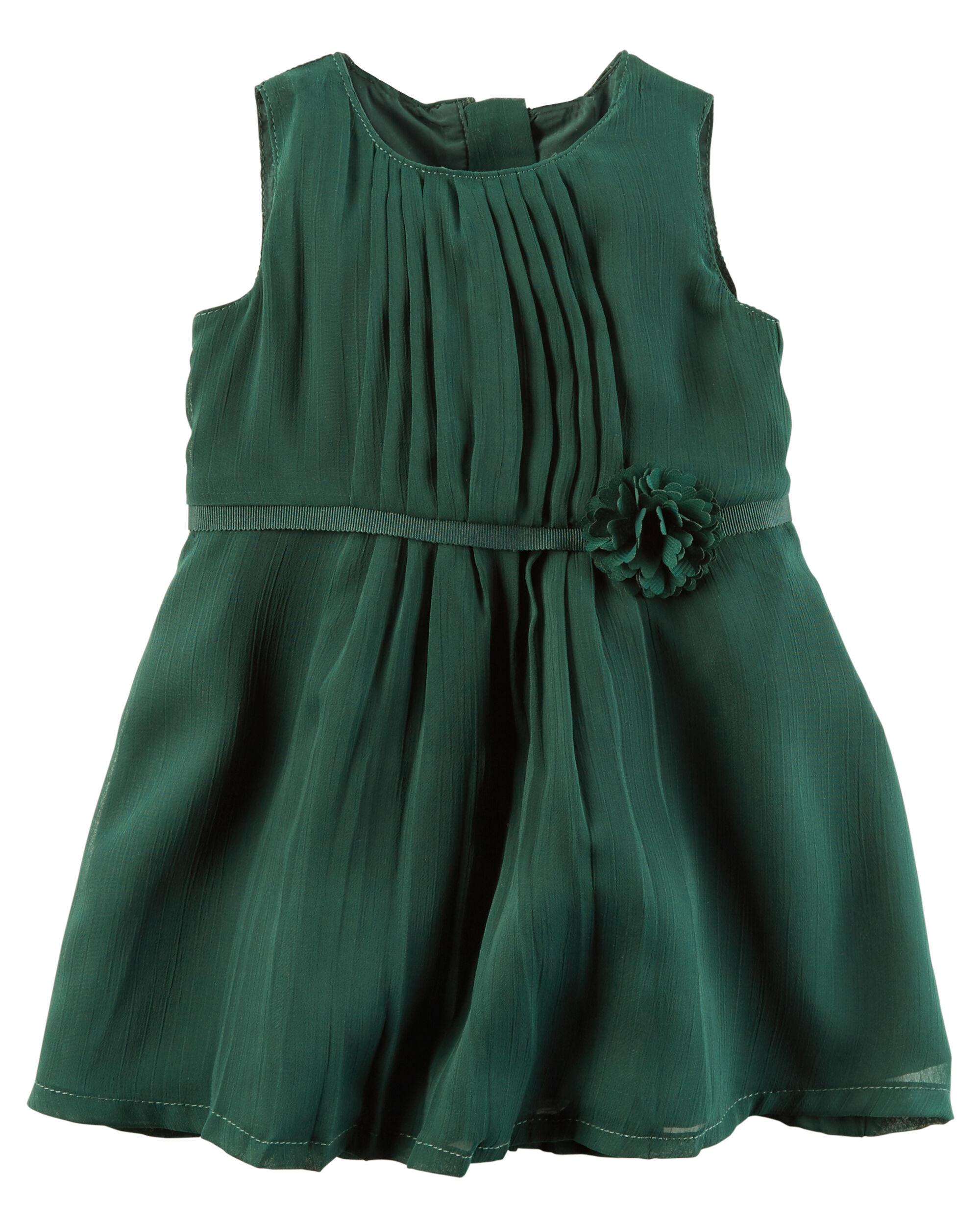 Bow Belt Chiffon Dress ...  sc 1 st  Carteru0027s & Bow Belt Chiffon Dress | Carters.com