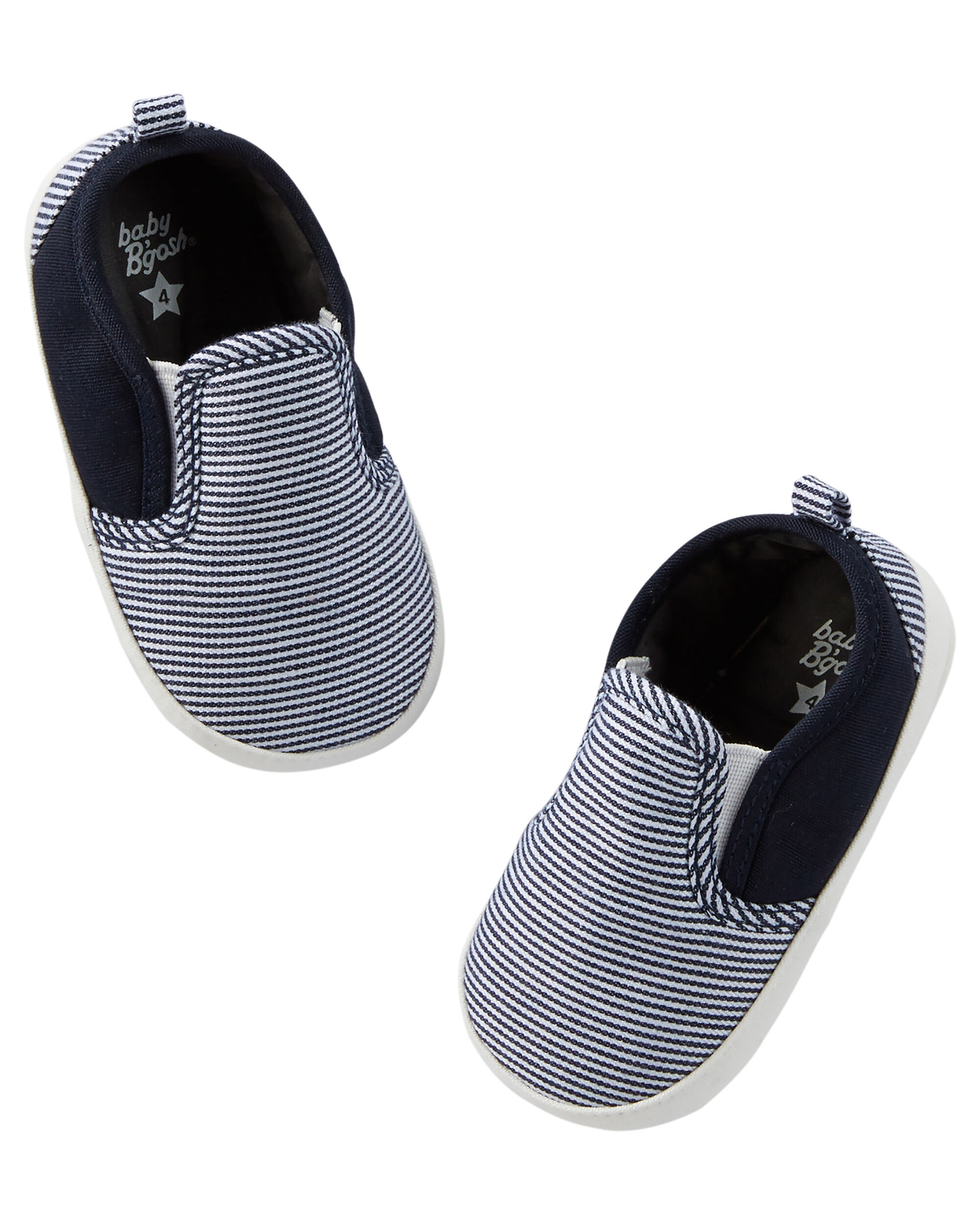 Baby Boy OshKosh Slip Crib Shoes