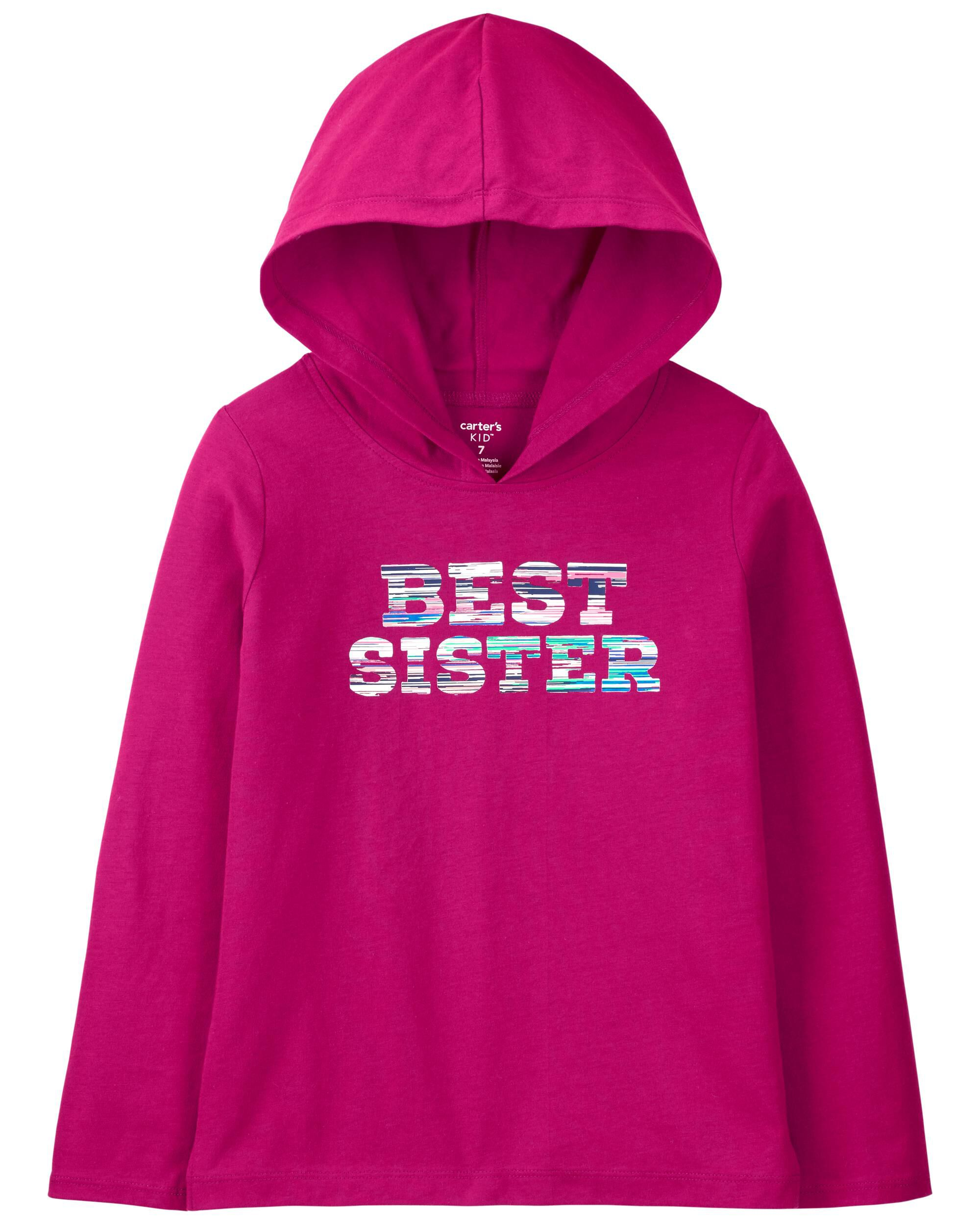 *CLEARANCE* Sister Hooded Jersey Tee