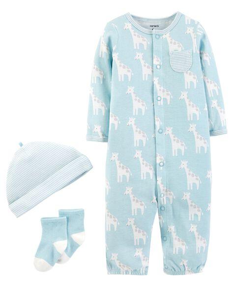 be9fdf1fb 3-Piece Babysoft Converter Gown Set