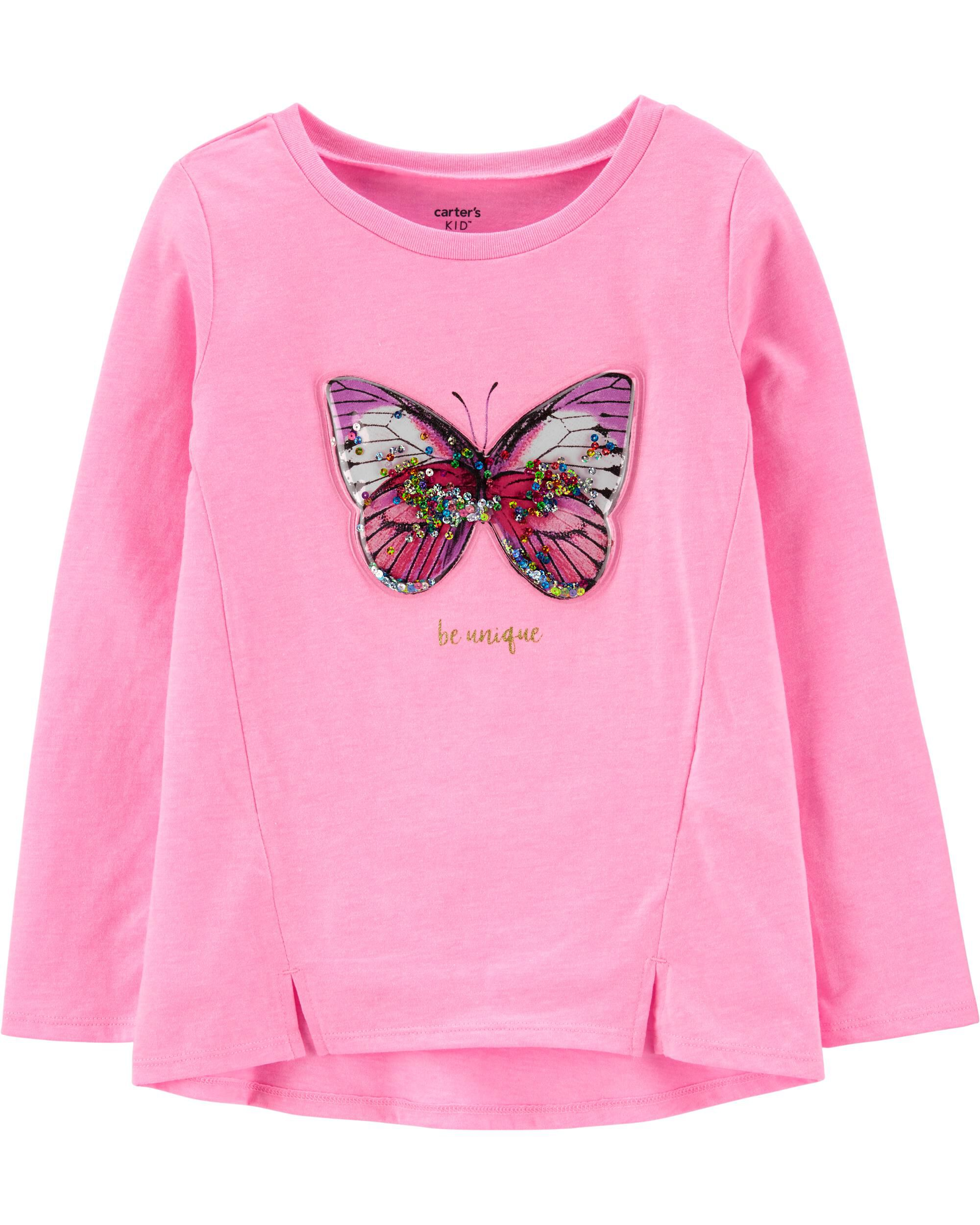 *CLEARANCE* Neon Interactive Butterfly Top