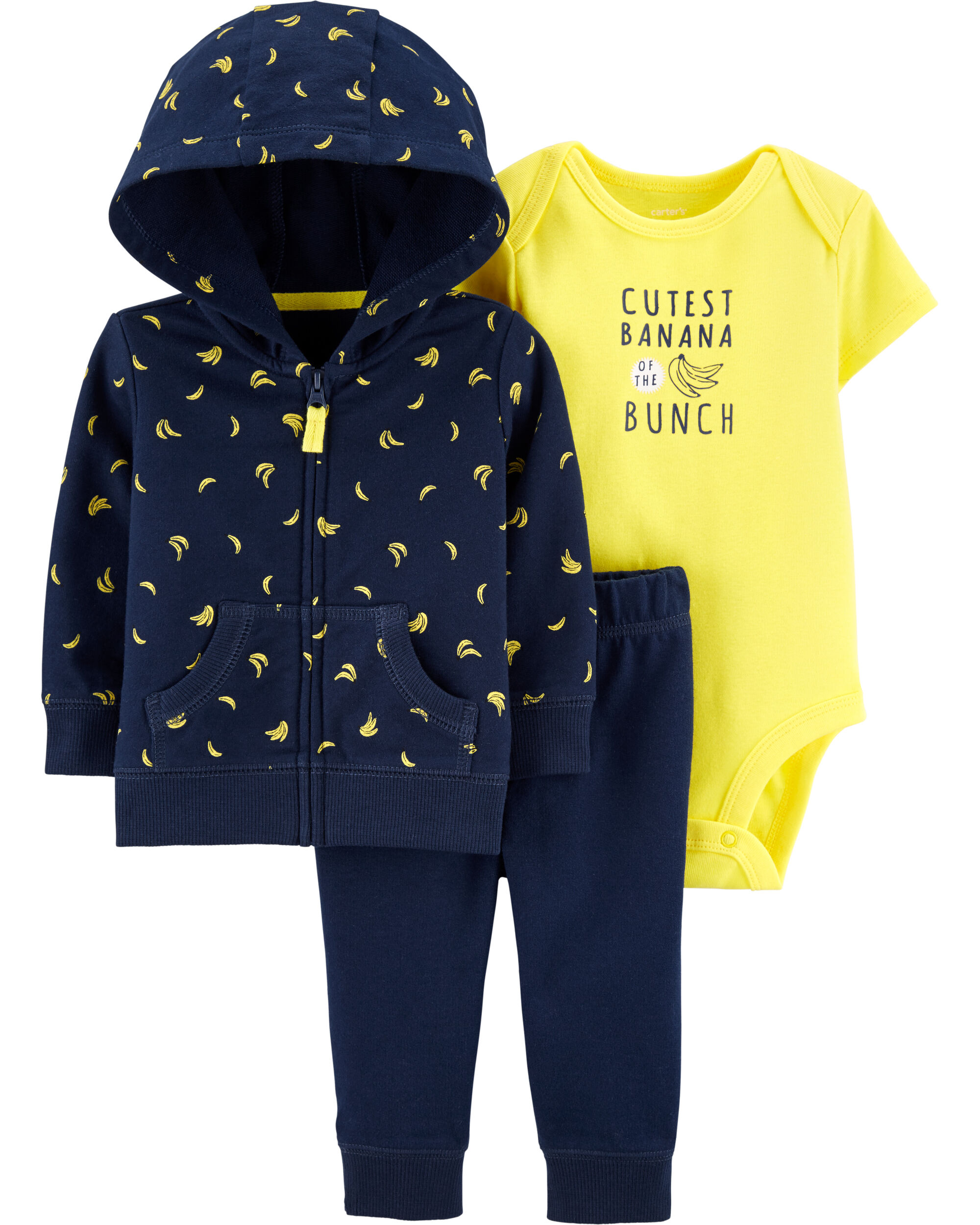 *DOORBUSTER* 3-Piece Banana Little Jacket Set