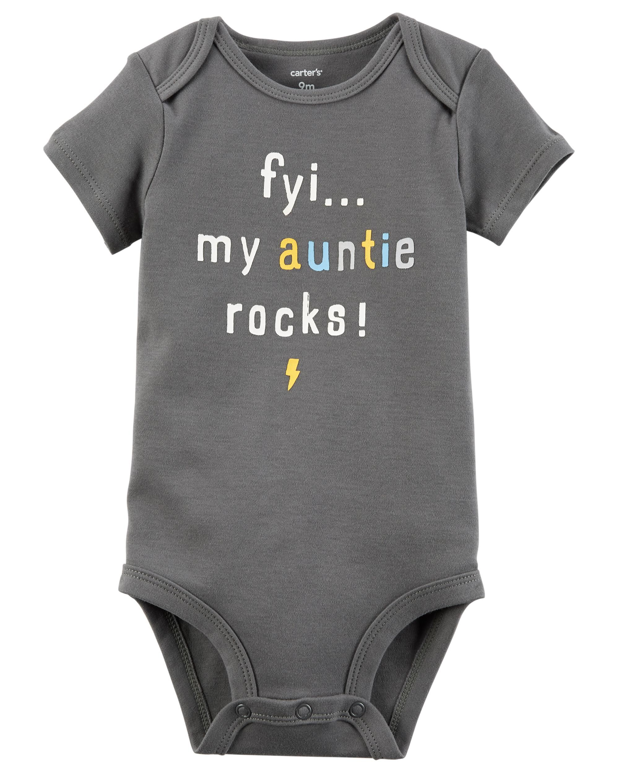 Auntie Rocks Collectible Bodysuit