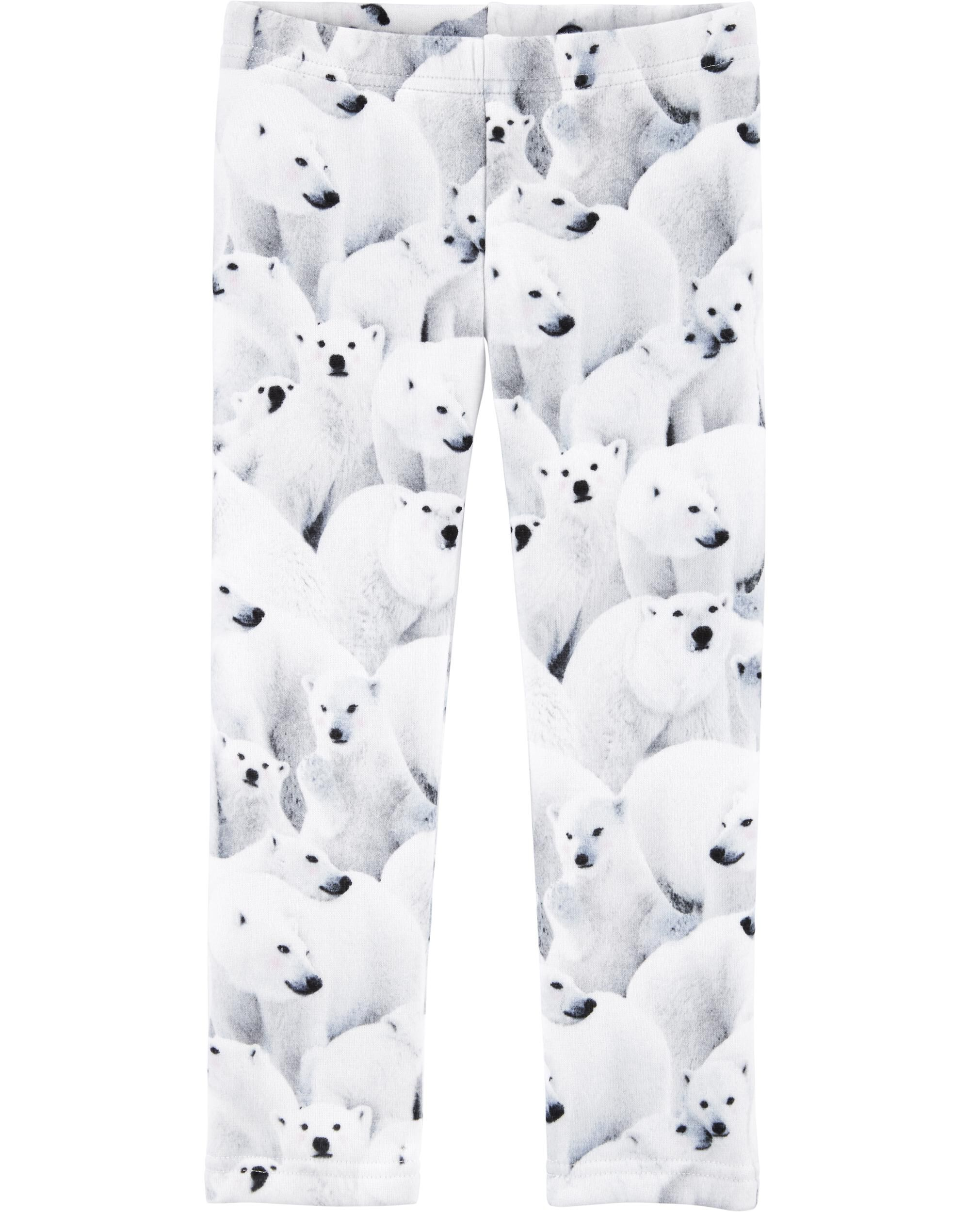 *CLEARANCE* Polar Bear Cozy Fleece Leggings