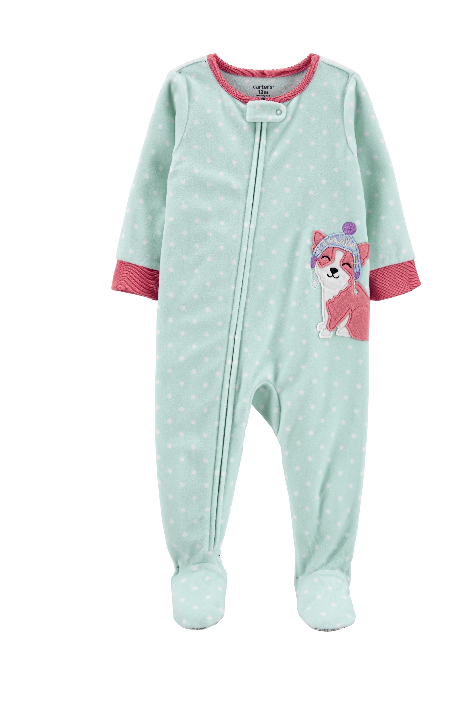 Carters Fleece One Piece Pajama